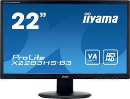 """Купить <b>монитор iiyama</b> 22.5"""", черный по низкой цене"""