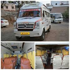 17 seater ac tempo traveller on at