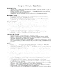 General Objective For Resume