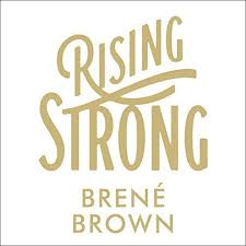 rising strong cover art on brene brown wall art with rising strong audiobook bren brown audible au