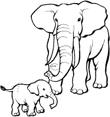 Small Picture elephant Colouring Pages page 2 Clip Art Library