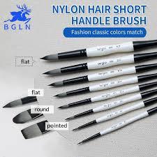 <b>Bgln 1Piece</b> Nylon Hair Professional Watercolor Paint Brush, Round ...