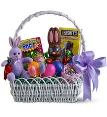 sweet bunny basket in amherstburg on flowers by anna