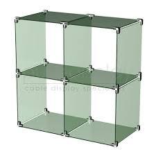 Glass Cube Display Set 2x2
