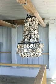 creative co op chandelier seaside mini wood and metal s