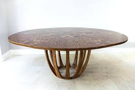 full size of expanding round table kit rotating mechanism plans brown oak burr revolutionizing your everyday