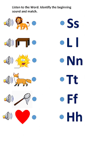 My younger daughter was very keen on phonics lessons and constantly asked to play rhyming word games and activities. Phonics Activity Worksheet