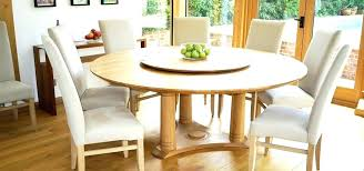 round marble dining table with lazy susan interior in oak or walnut thumb top round marble dining table with lazy susan