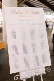 10 Table Chart Ideas For Different Wedding Styles