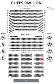 Young Vic Seating Chart Seating Plans Southend Theatres