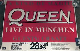 Concert: Queen live at the Olympiahalle, Munich, Germany [28.06.1986]  [QueenConcerts]