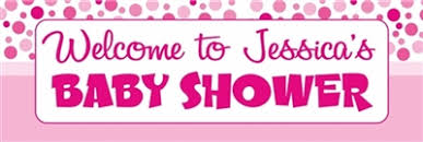 Personalised Baby Shower Banners Free Delivery