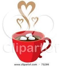 hot chocolate christmas clip art. Contemporary Hot Clipart Happy Marshmallows Floating On Hot Chocolate  Royalty  Coffee  Clipart Free Christmas Clip Art O