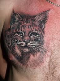 татуировка на груди у парня рысь фото рисунки эскизы