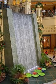 inspiring ideas for designing indoor garden with indoor waterfall design inspiring small indoor garden decoration