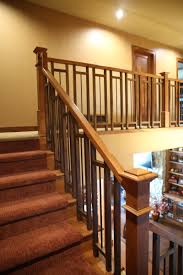 Craftsman Staircase modern interior stair railings mestel brothers stairs rails inc 3518 by xevi.us