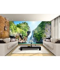 Small Picture Buy Arihant Design Nature Wall Wallpaper Online at Low Price in