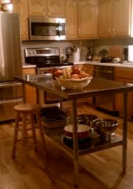 Marble Top Kitchen Work Table Delectable Stainless Steel Kitchen Island Work Table With Cabinet