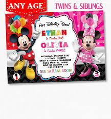 mickey and minnie invitation templates bachelorette party invitations awesome harry potter birthday party