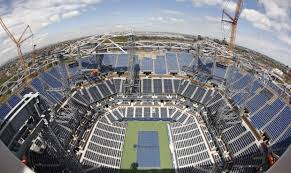 australian open roof ap photos us open roof taking shape in new york arizona sports