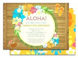 Tropical Party Invitations Party Invitations In Support Of Your Invitation Templates With