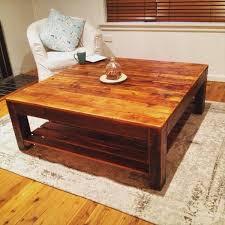 vintage inspired pallet coffee table pallet furniture diy