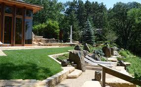 Frank Lloyd Wright Home Lakeside Garden