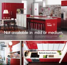 Red Gloss Kitchen Cabinets Red Kitchen Cabinets Ikea Design Porter