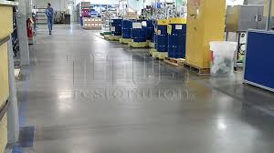 the benefits of polished concrete floors includes easy maintenance and low cost installation