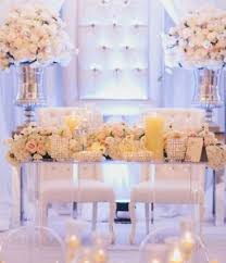 Impressive Bride And Groom Wedding Table Wedding Planning 20 And More  Romantic Table Setting Ideas For