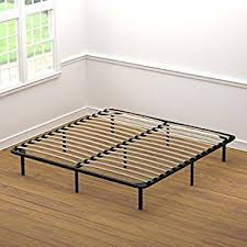 Amazon Handy Living Wood Slat Bed Frame King Kitchen & Dining