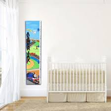 Thomas The Train Growth Chart Thomas The Tank Engine Decor Personalized Growth Chart Mural Growth Chart Nursery Decor Wood Grow Chart Kids Height Chart Ruler Growth
