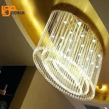 ceiling mounted chandelier new oval design crystal chandeliers led light length ceiling mounted living room lamp ceiling mounted crystal chandelier
