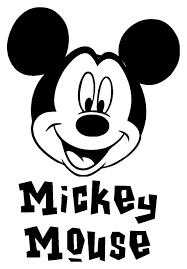 Sticker Mk ディズニー ミッキーマウスディズニーイラスト