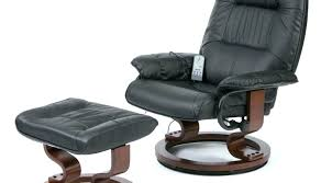 leather chair with footstool full size of massage beautiful reclining leather chair in modern furniture with