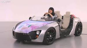 Electric Cars For Kids Toyota Camatte Youtube