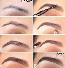 korean makeup eyebrow
