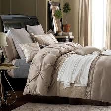 silk sheets luxury bedding set designer bedspreads queen size quilt doona duvet cover cotton bed linen full king double coverlet brown bedding sets full