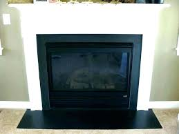 fireplace draft cover gas