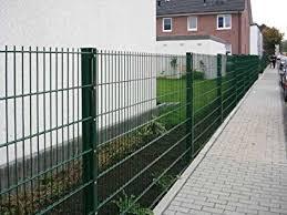 Recinzioni Da Giardino In Metallo : Camas recinzione a doppia griglia per giardino in metallo m