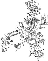 parts com® audi engine cylinder head valves exhaust valve 2 7l 2004 audi a4 quattro base l4 1 8 liter gas cylinder head valves