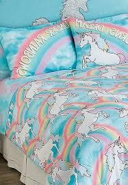 justice unicorn comforter sets queen 7