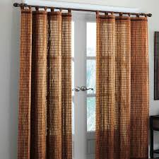 Jcpenney Curtains For Living Room Decorating Tiger Painted Bamboo Curtain Panels For Window Decor Idea