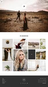 Photography Website Templates Impressive Showit 28 Premium Free Photography Website Templates Dark