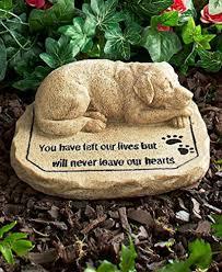 natural stone pet memorials