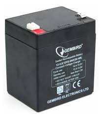 ᐉ Батарея к <b>ИБП Gembird</b> 12В 5 Ач (BAT-12V5AH) — купить в ...