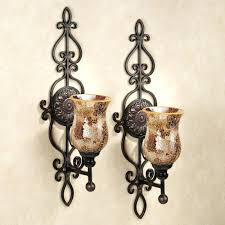 Wall Ideas: Metal Wall Candle Holders (Image 18 of 20)