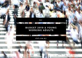 Budget For Young Adults Budget 2019 Young Working Adults Donovan Ho