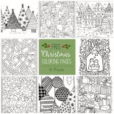 Free Printable Coloring Pages Of Christmas Trees Easy Crayola