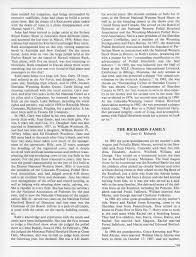 Sheridan County Heritage Index, Sheridan County Wyoming